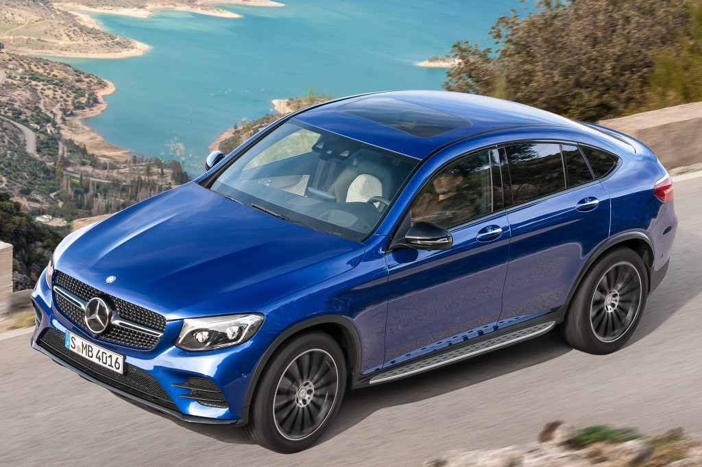 2017 mercedes benz glc coupe priced from 49 444 40 580 autoevolution. Black Bedroom Furniture Sets. Home Design Ideas