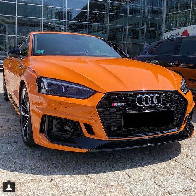 Glut Orange 2018 Audi RS5 Is Different