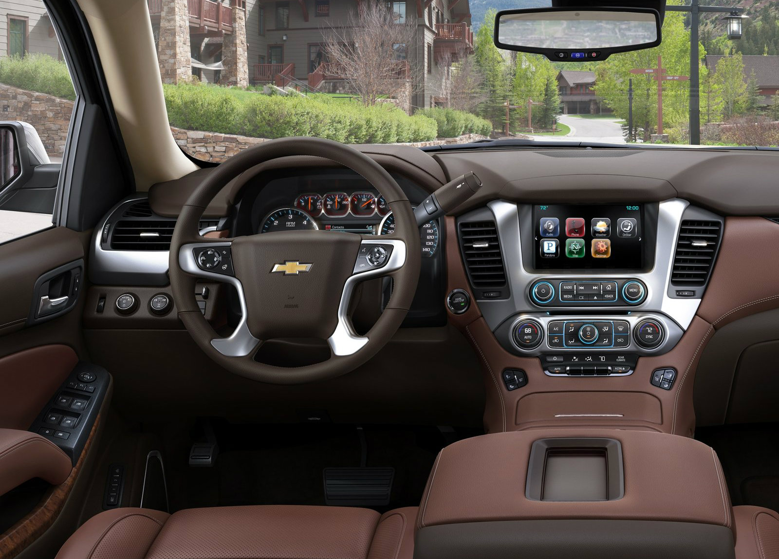 2017 Silverado Colors >> GM Full-Size SUVs Updated for the 2015i Model Year - autoevolution