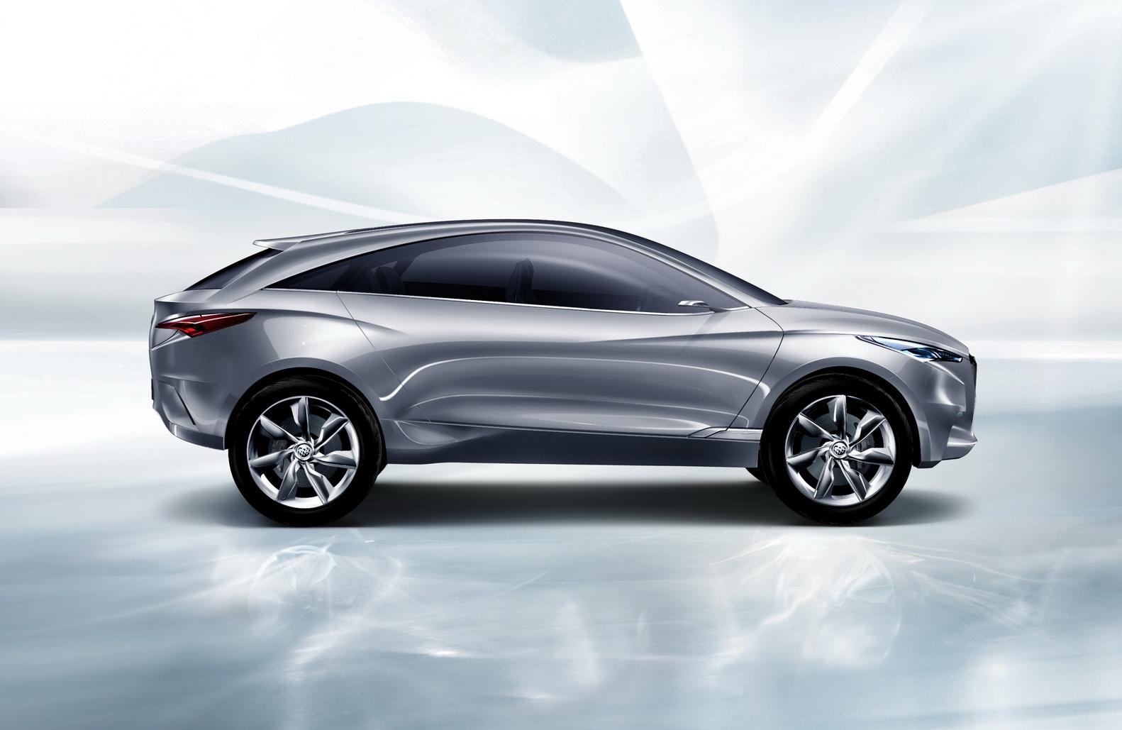 Gm Unveils Buick Envision Suv Concept Autoevolution