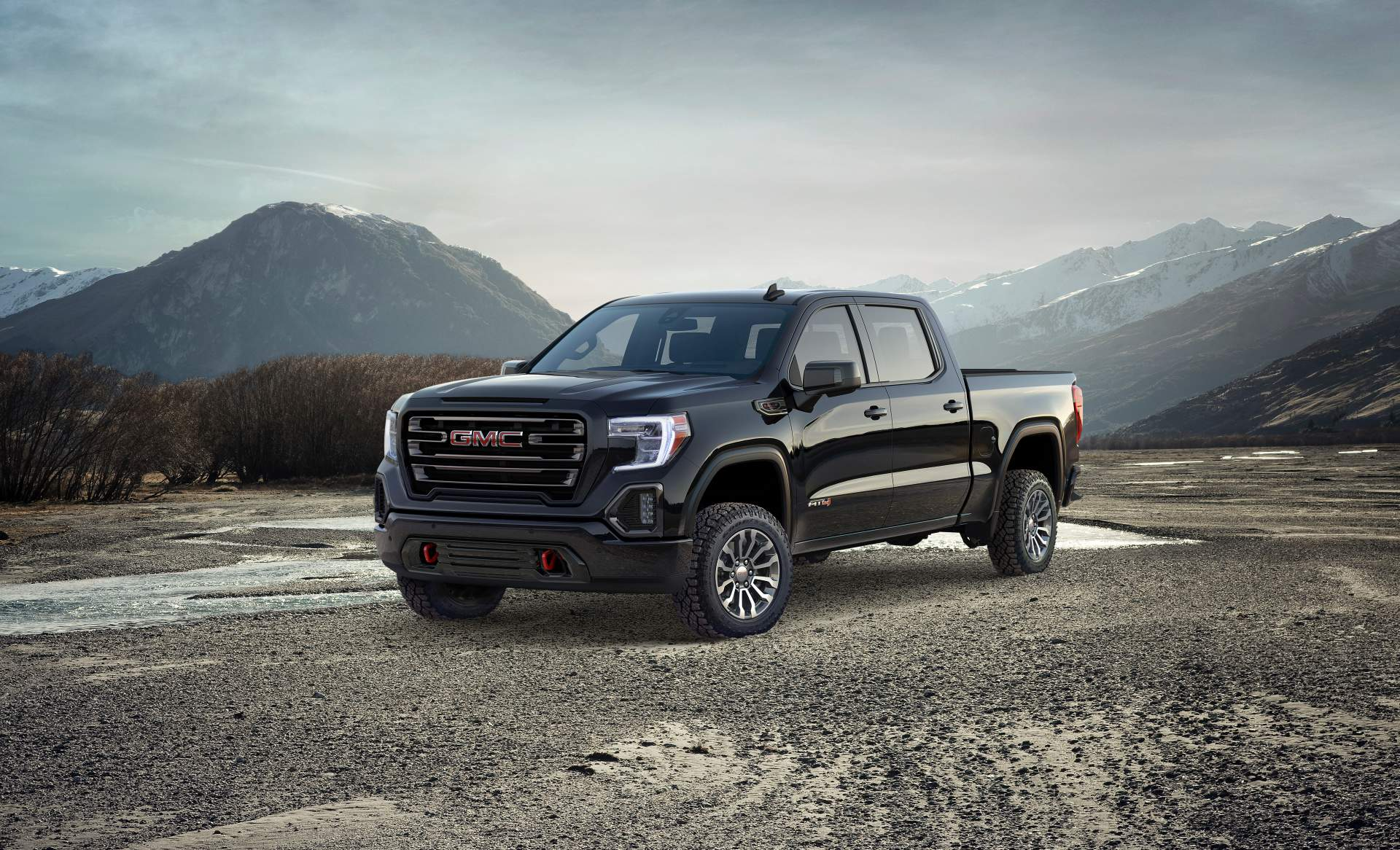 Gmc Levels Up 2019 Sierra At4 With Off Road Performance