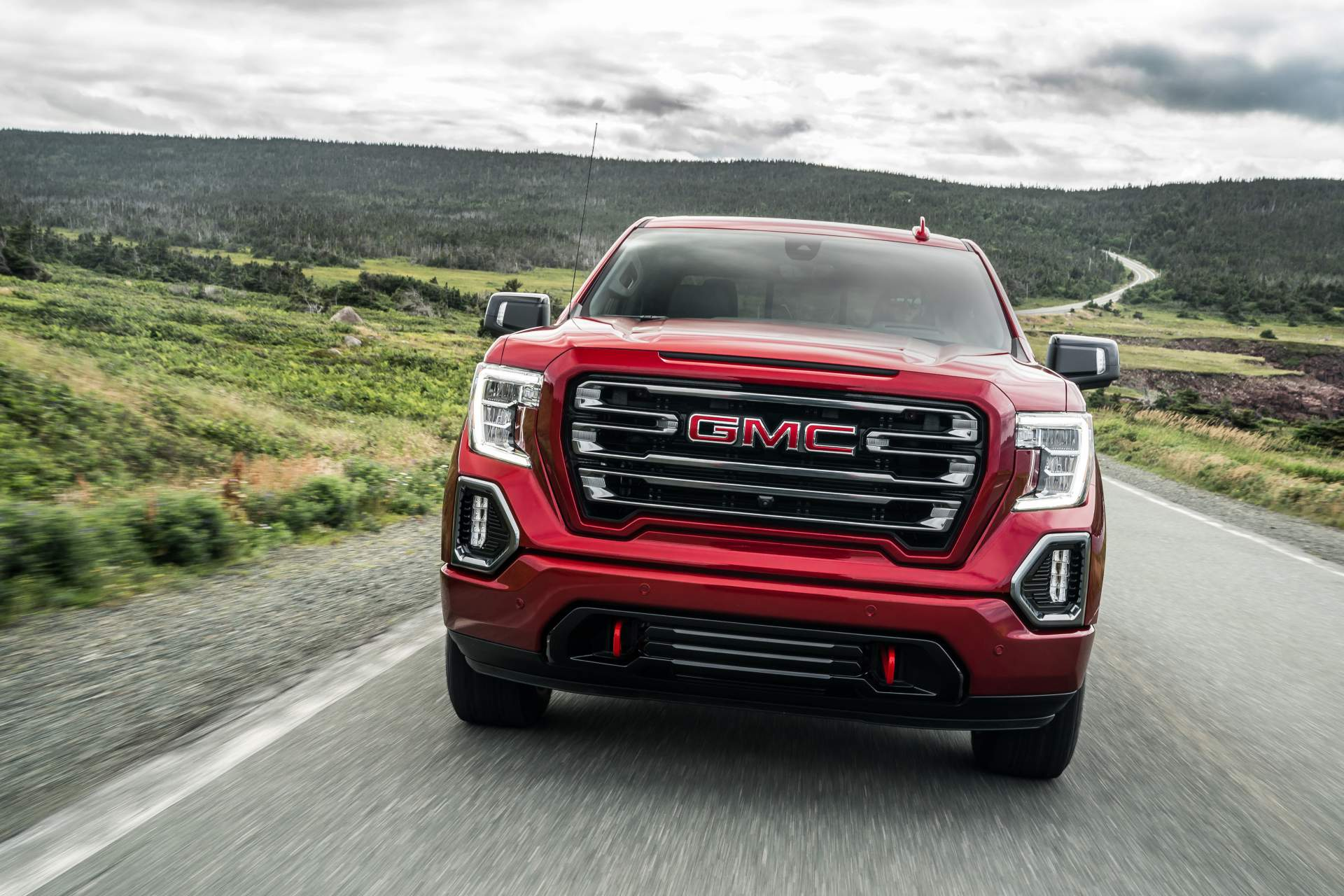 GMC Levels Up 2019 Sierra AT4 With Off-Road Performance ...