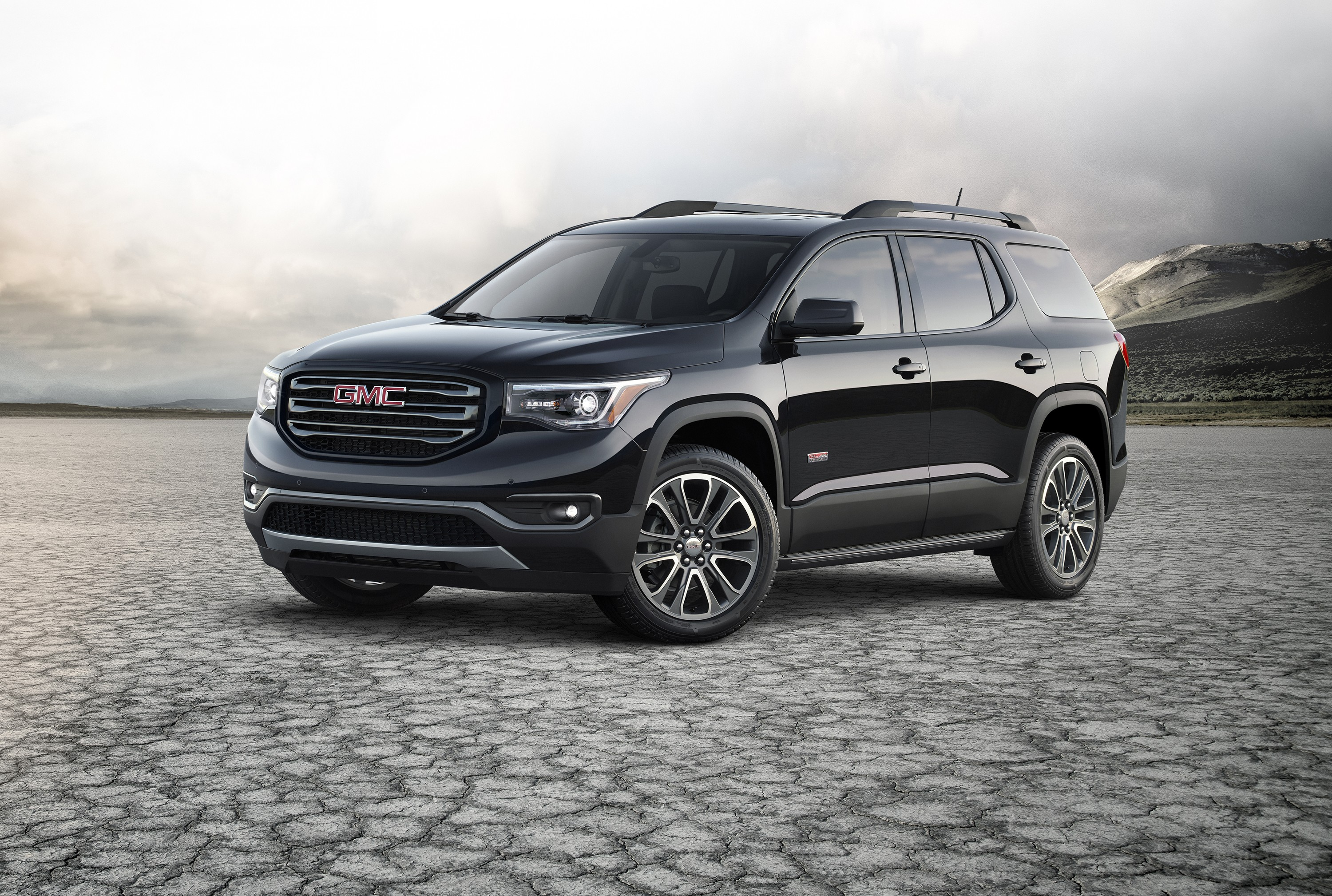GMC Paints The Terrain and Acadia in Black, Calls Them ...