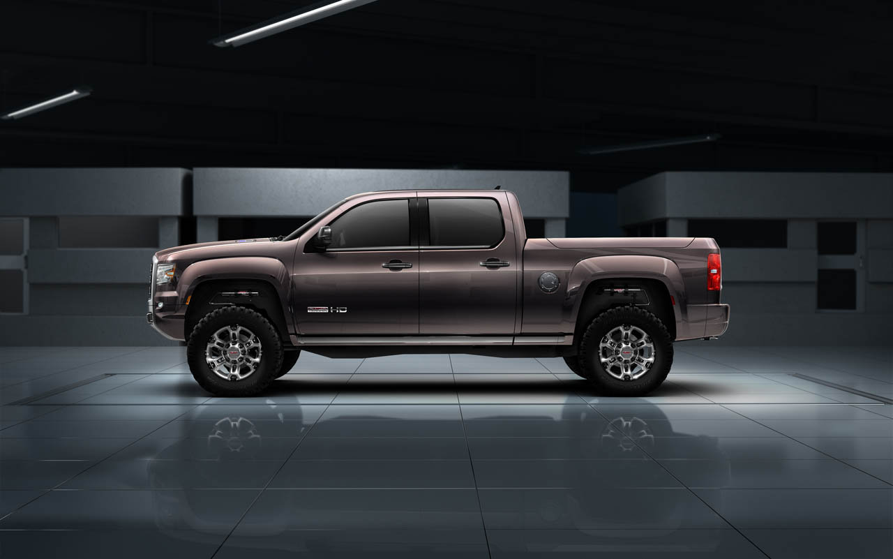 Gmc Sierra All Terrain Hd Concept Unveiled Ahead Of