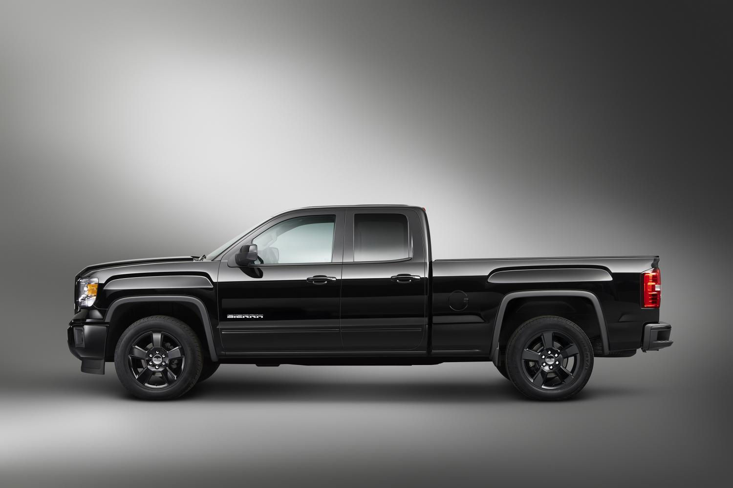 2015 Chevrolet Silverado 1500 Double Cab >> GMC Sierra Elevation Edition Detailed - autoevolution