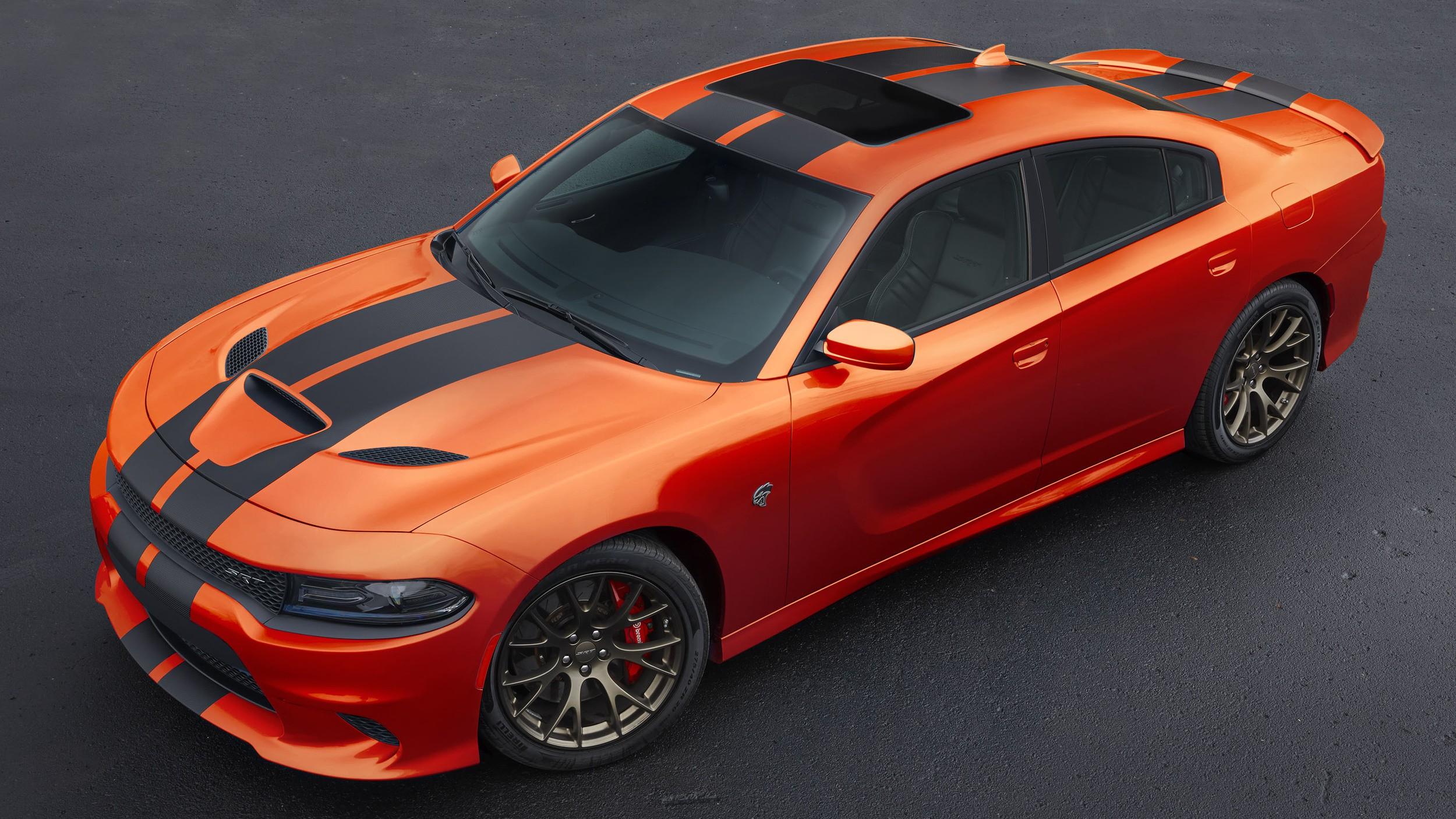 charger dodge challenger mango go paint regular orange cool hellcat srt autoevolution hemi