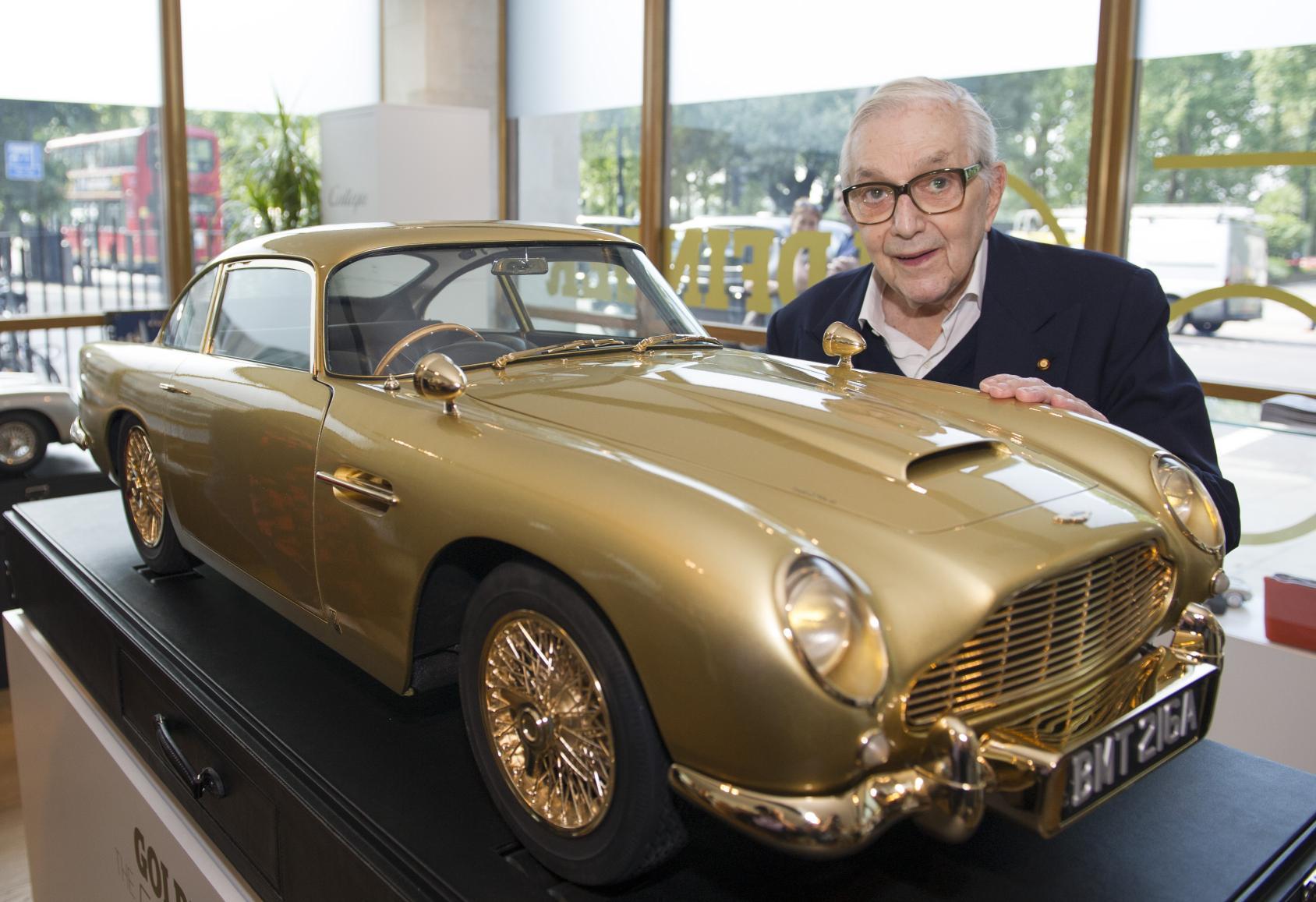 Gold Aston Martin Db5 Model Car Heading To Auction