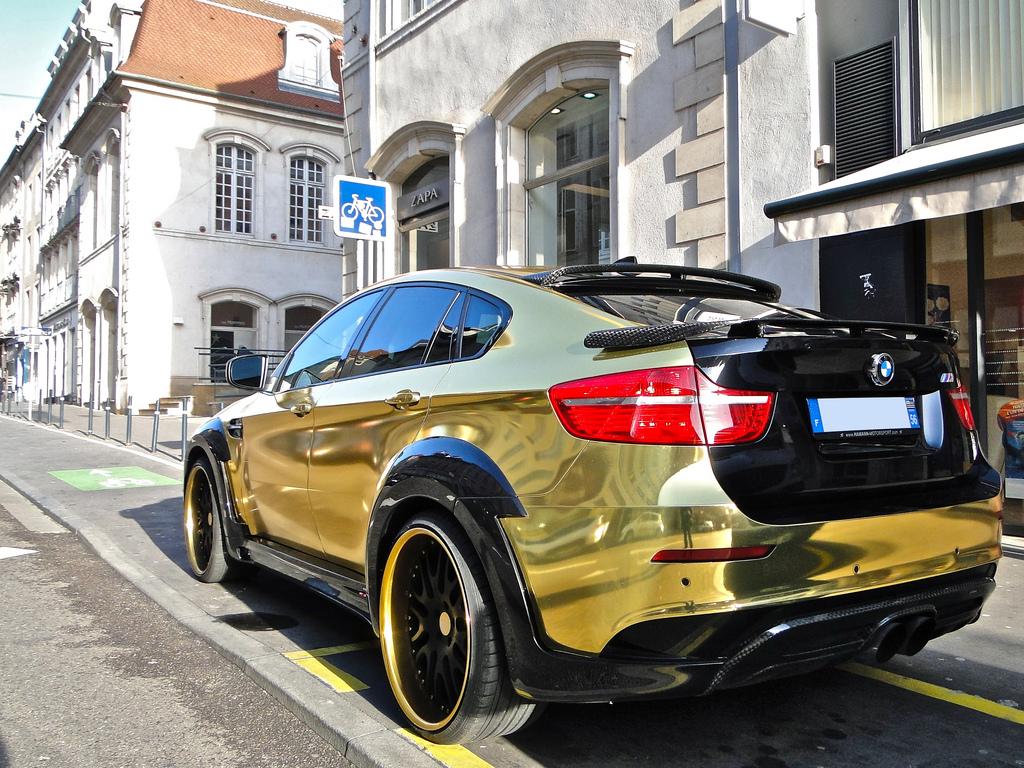 Gold Bmw X6 Hamann Supreme Edition Autoevolution