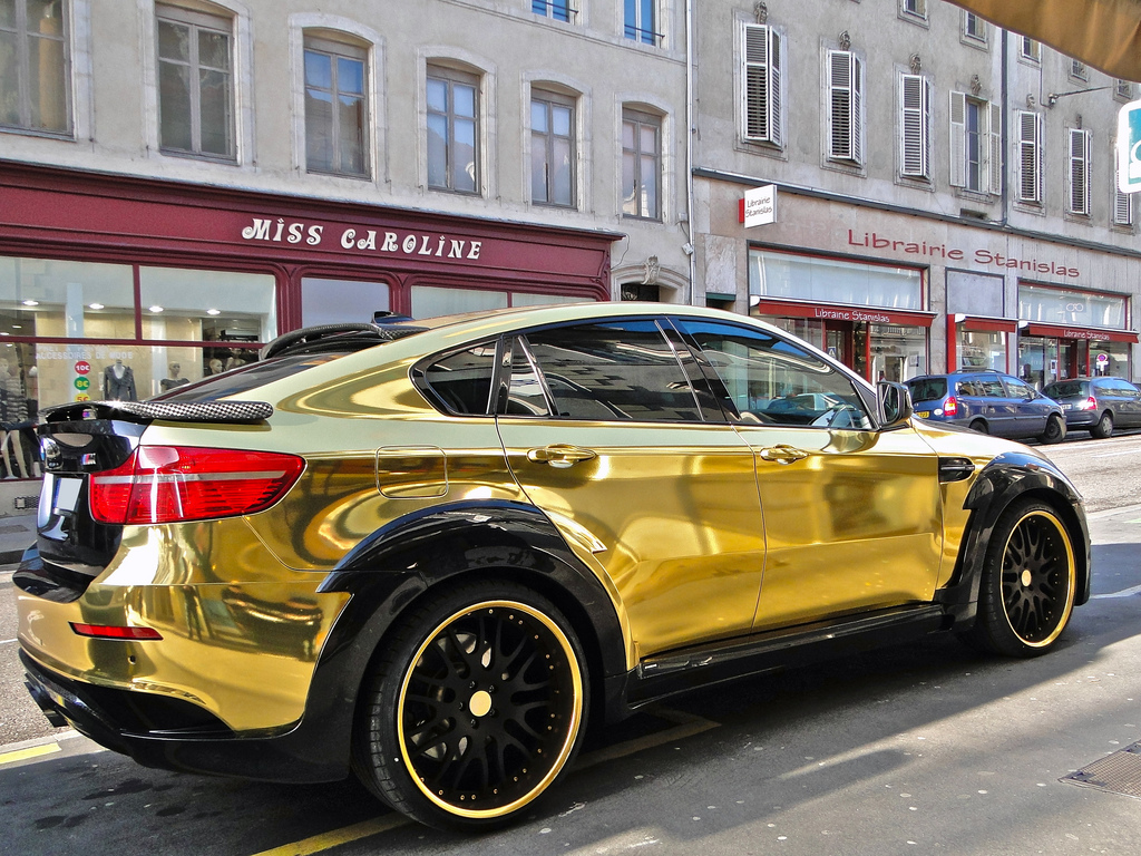 Gold Bmw X6 Hamann Supreme Edition Autoevolution For Mobile