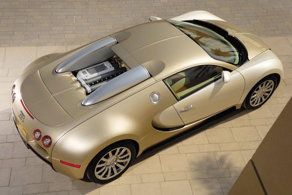 Golden Bugatti Veyron Official Photos Autoevolution