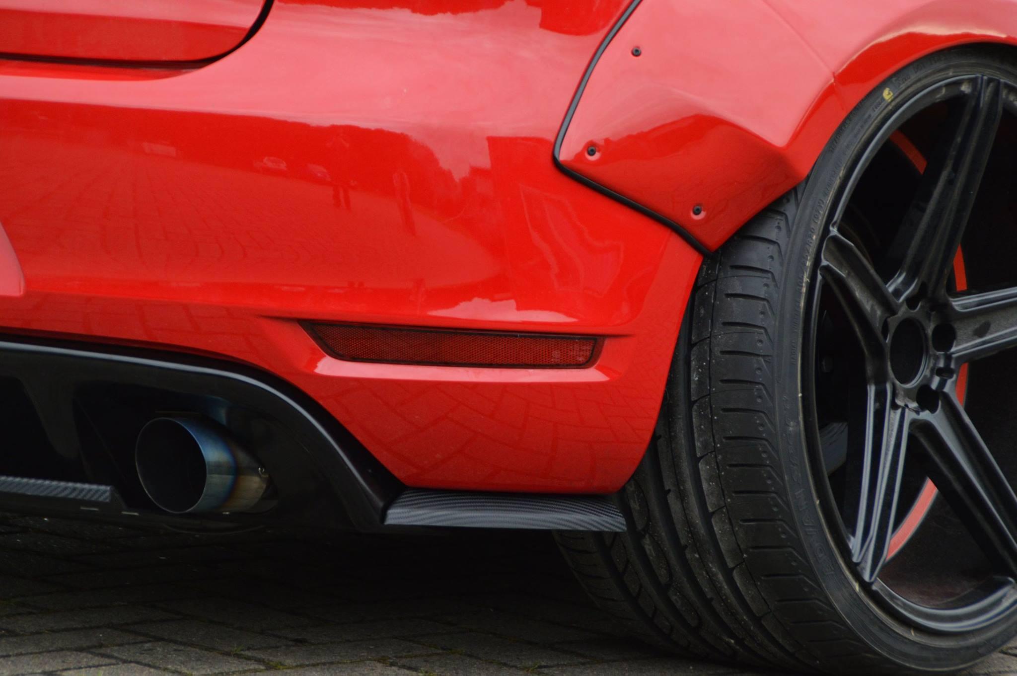 Golf 6 GTI Gets Widebody Kit from Ingo Noak: the European Rocket Bunny ...