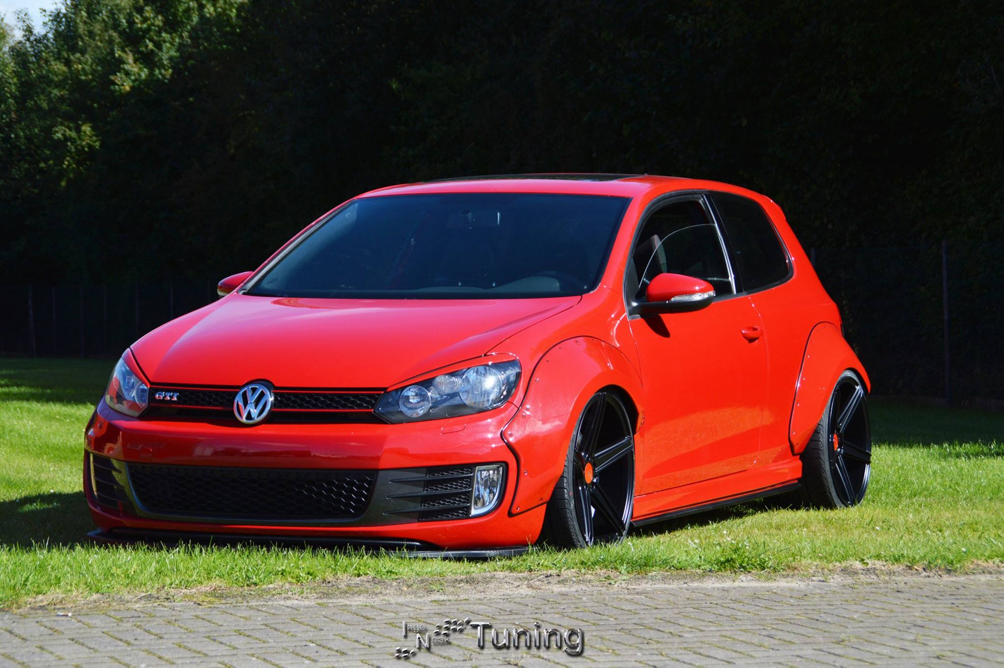 golf gti with widebody kit from ingo noak vw golf r400 forum. Black Bedroom Furniture Sets. Home Design Ideas