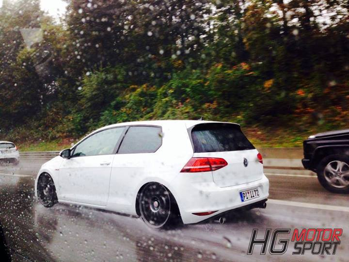 golf 7 gti gets non resonated bull x exhaust video. Black Bedroom Furniture Sets. Home Design Ideas