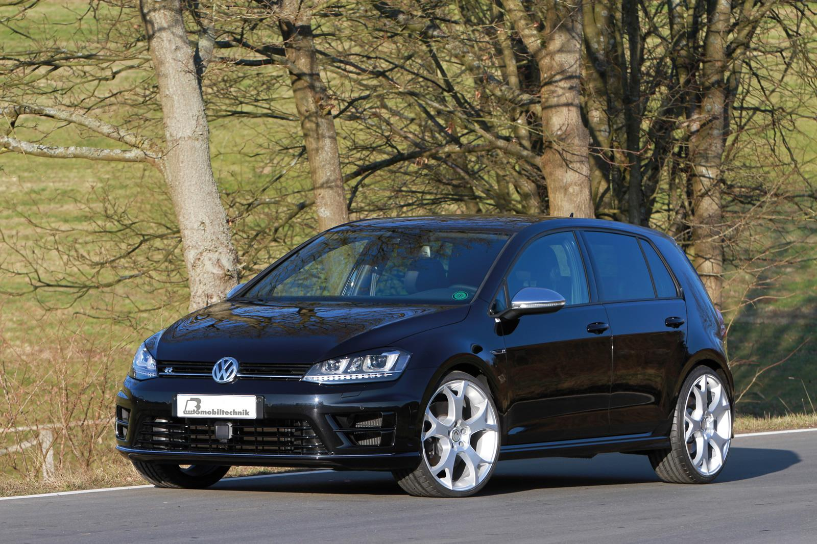 golf 7 r taken to 420 hp by b b automobiltechnik. Black Bedroom Furniture Sets. Home Design Ideas