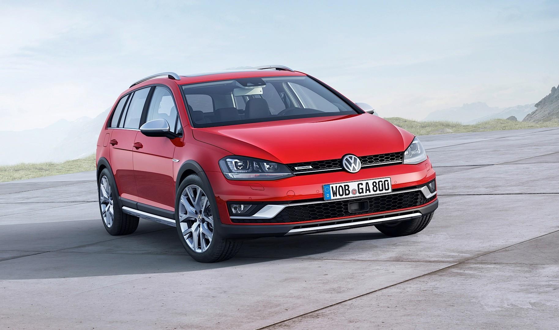 Golf Alltrack Set to Join SportWagen in US Volkswagen Lineup