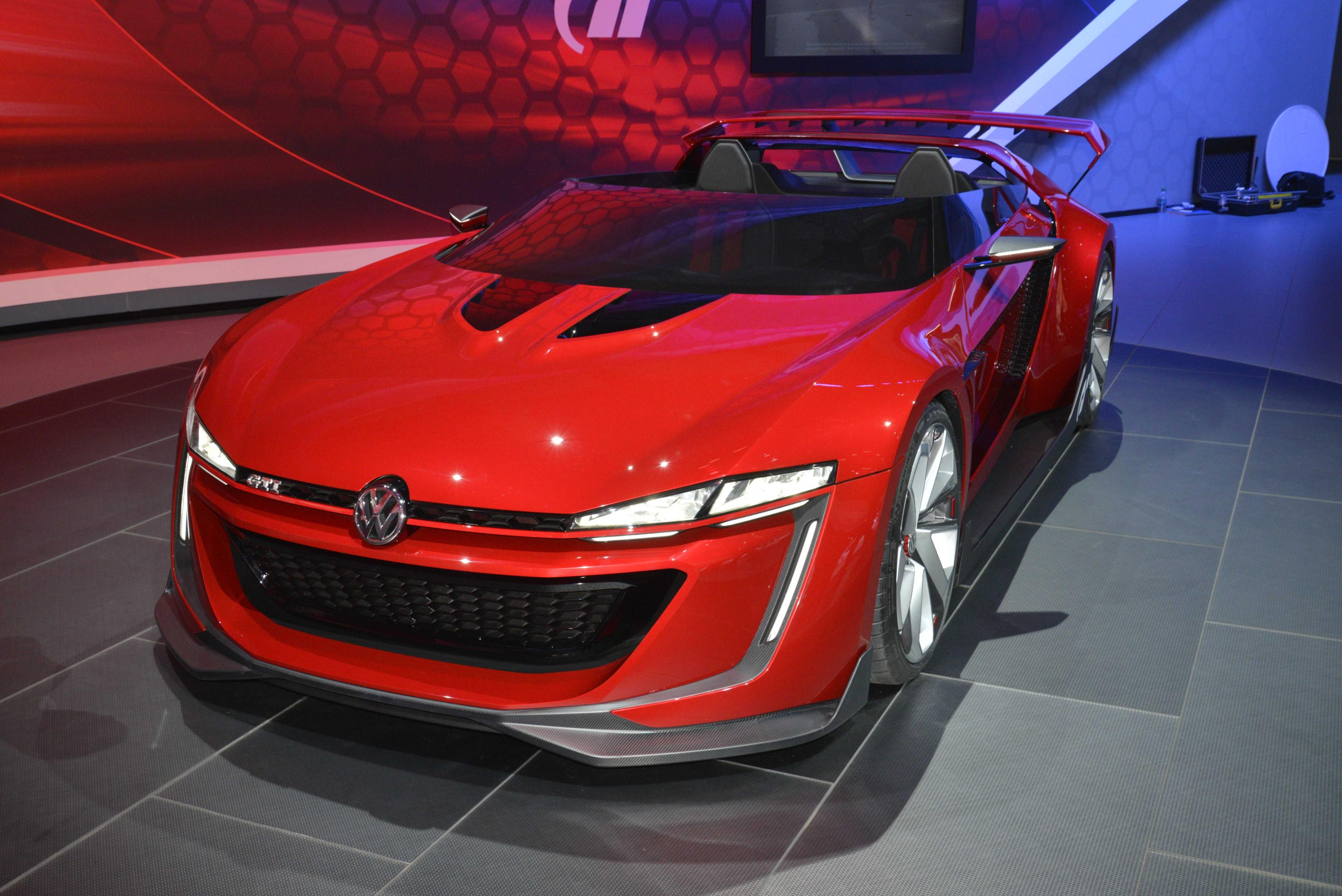 Golf GTI Roadster Makes Debut in LA Needs to Go into Production