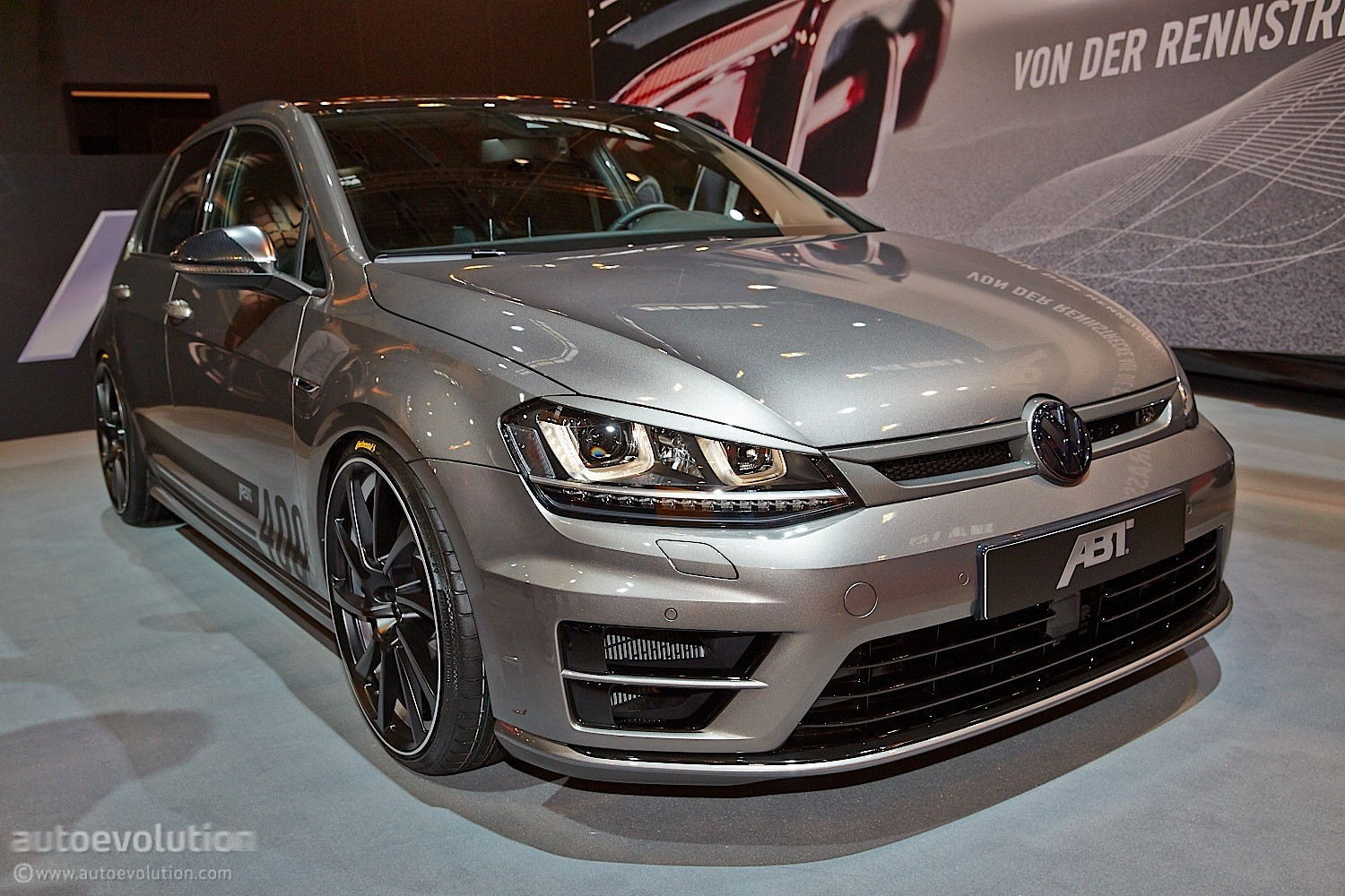 tuningcars golf r goes mental with 400 hp tuning kit from. Black Bedroom Furniture Sets. Home Design Ideas