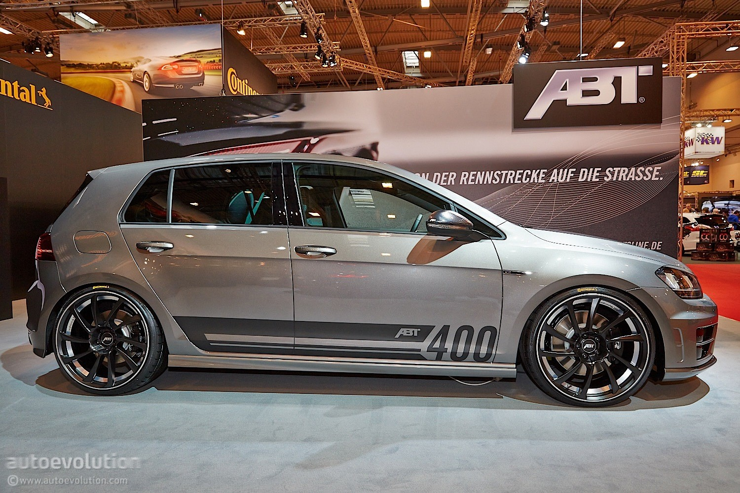 How Much Is A Catalytic Converter >> Golf R Goes Mental With 400 HP Tuning Kit from ABT in Essen [Live Photos] - autoevolution