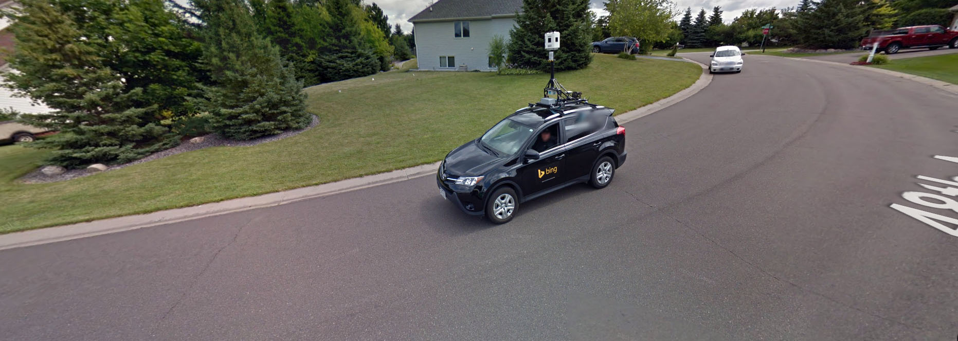Google And Bing Cars Have Unlikely Run In With Each Other Turf War