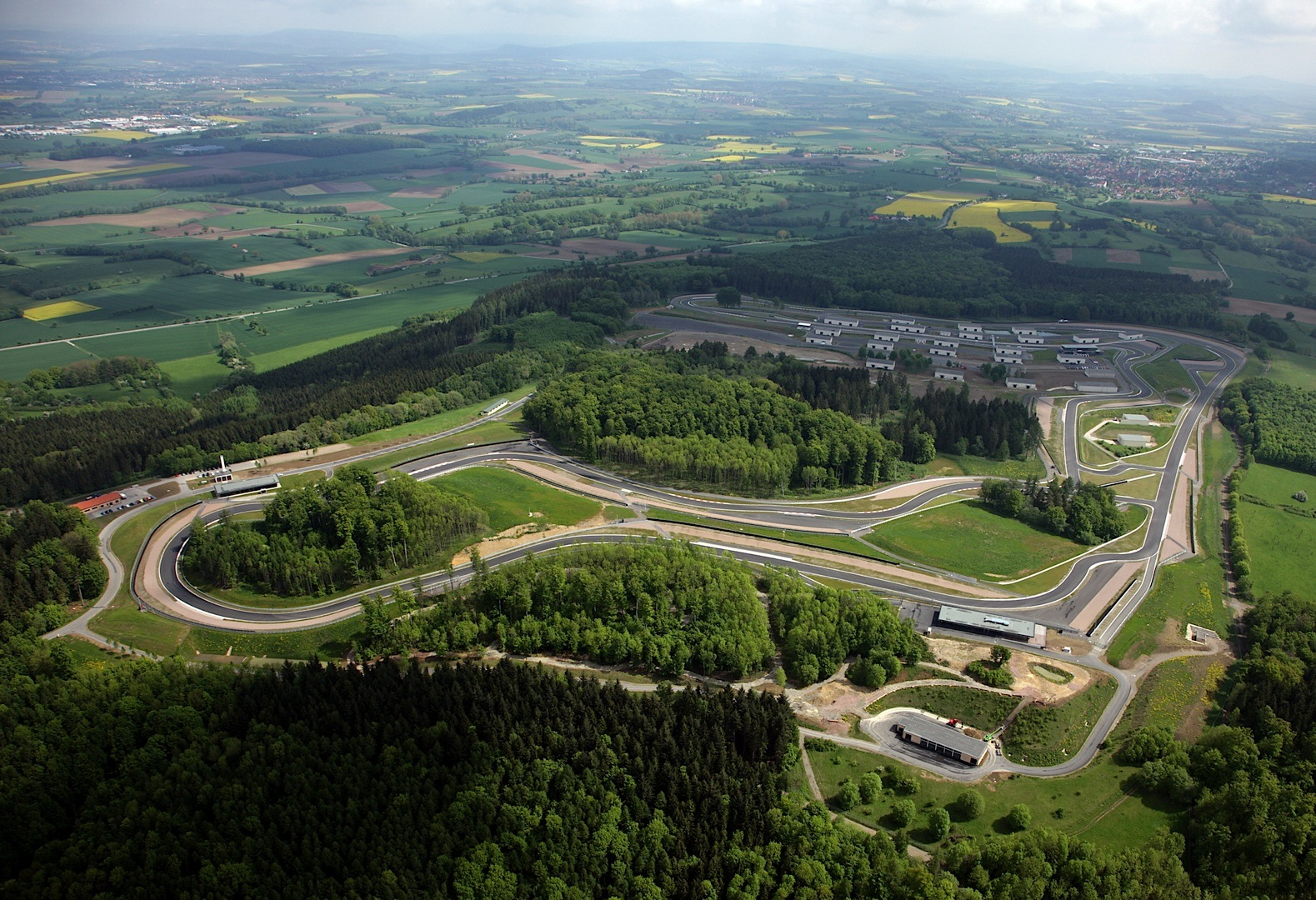 Google Maps Uses Drawn Version Of The Bilster Berg Circuit