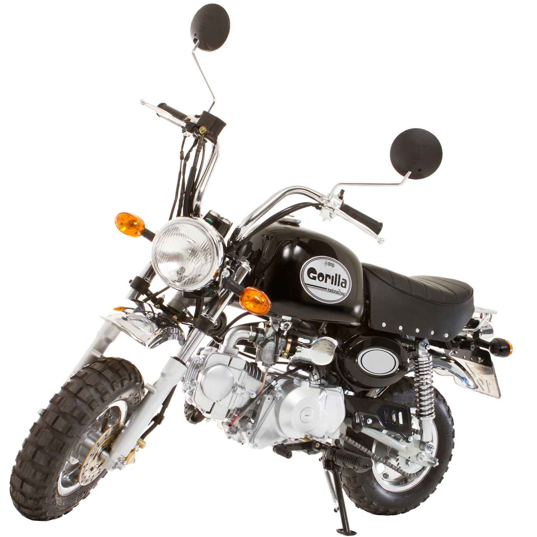 Gorilla 50cc The Fun Miniature Trail Bike Autoevolution