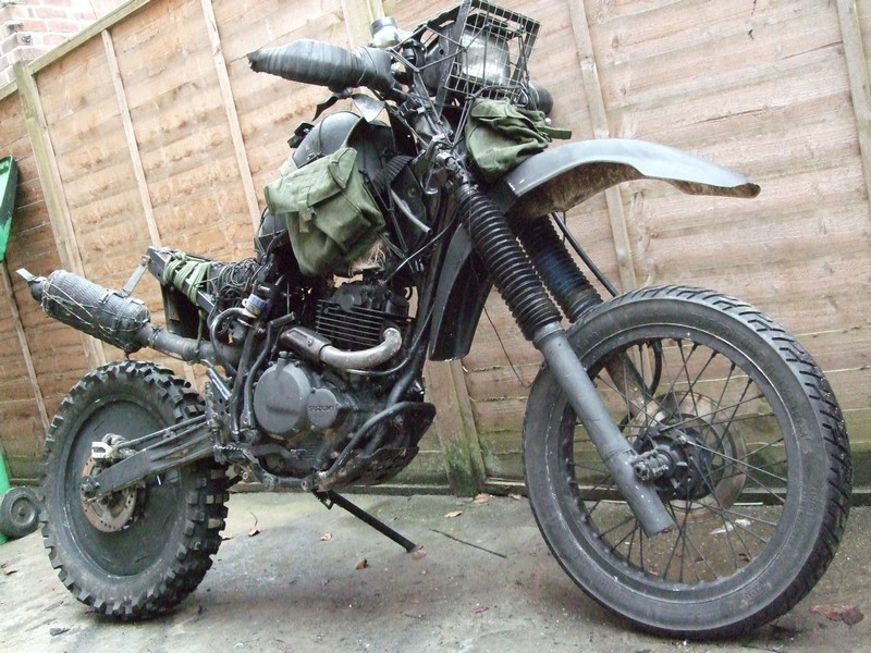 Yamaha Tw200 Modified Grabenratte, the Grave...