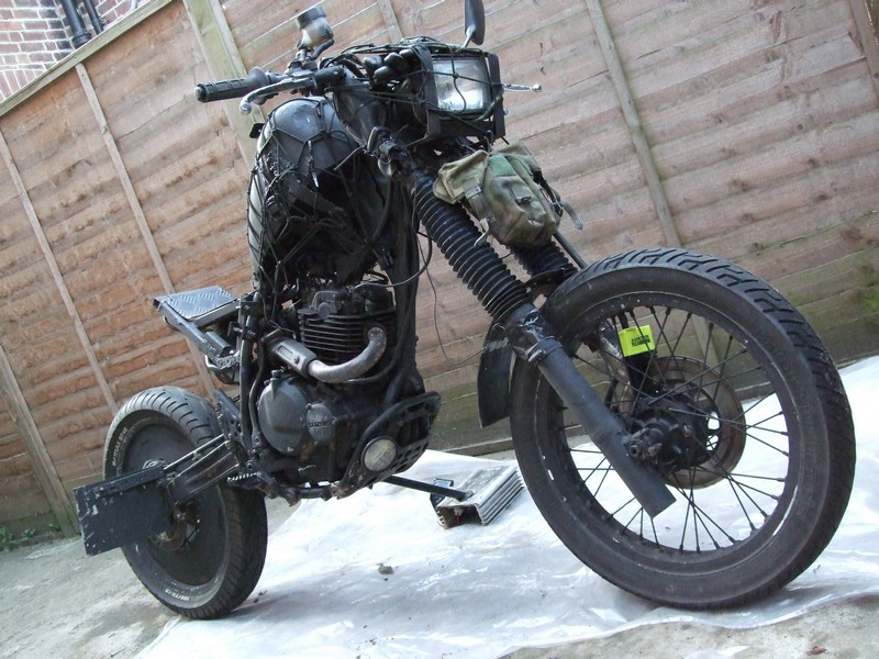 Grabenratte The Grave Rat Bike Autoevolution