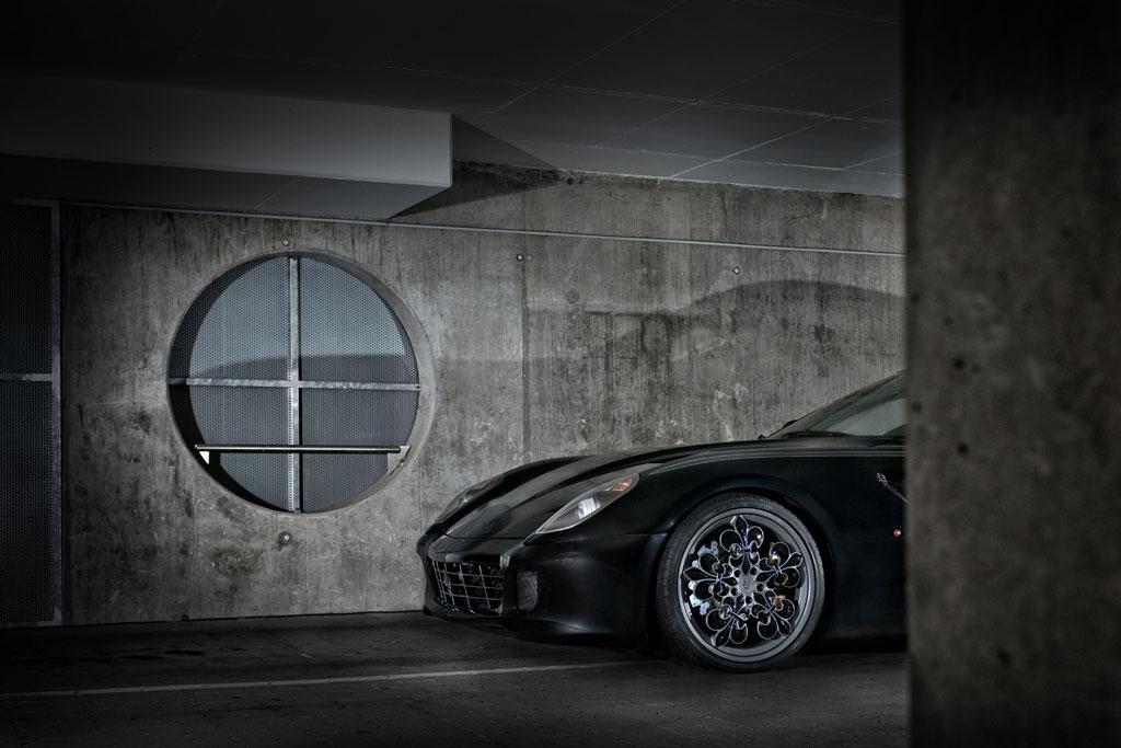 Graf weckerle ferrari 599 gtb comte noir autoevolution for Graf custom homes