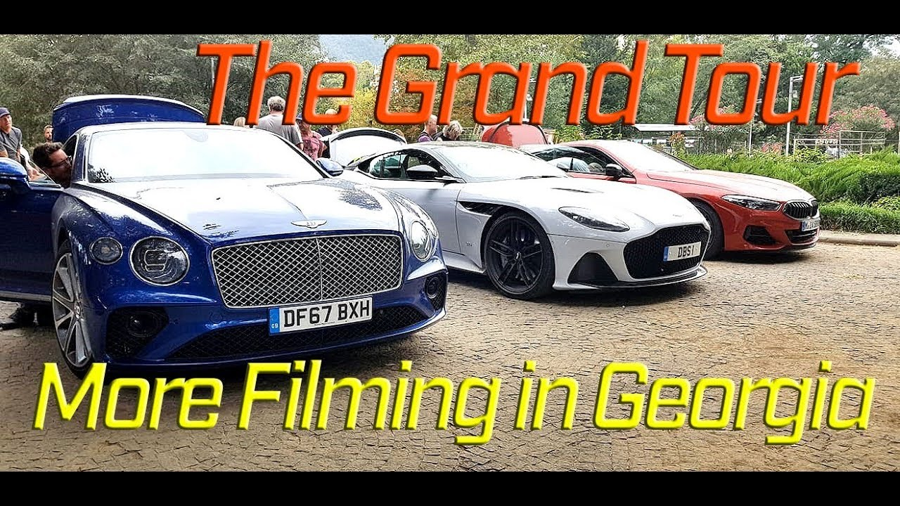 grand tour filming new bmw m850i, conti gt and aston martin dbs