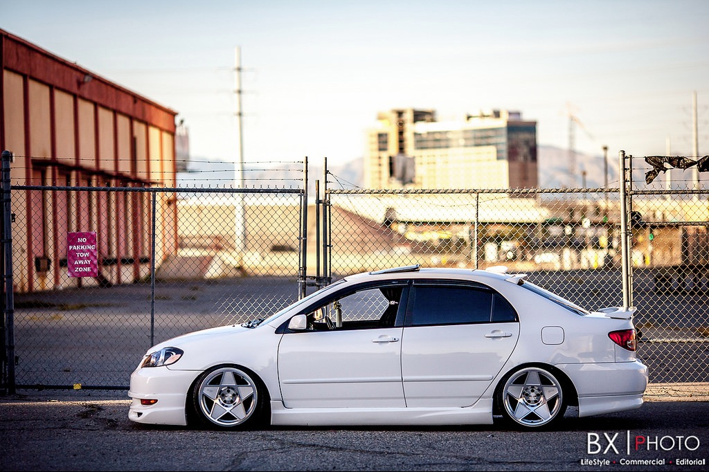 Grandma S Stanced Toyota Corolla Really Stands Out The