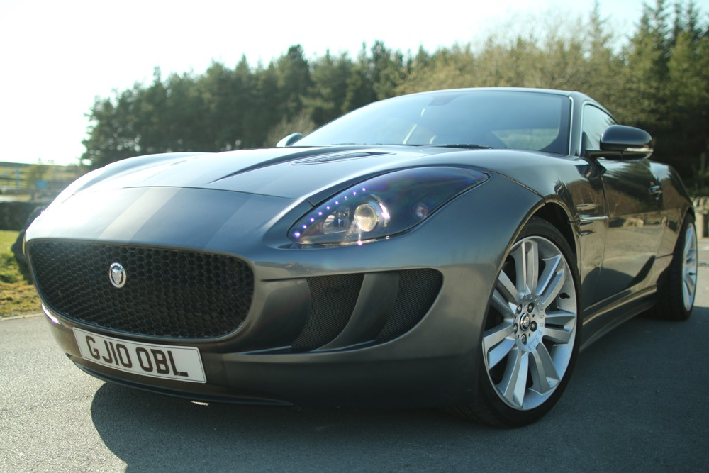 ... Grantley Design Jaguar XKR To F Type Conversion ...