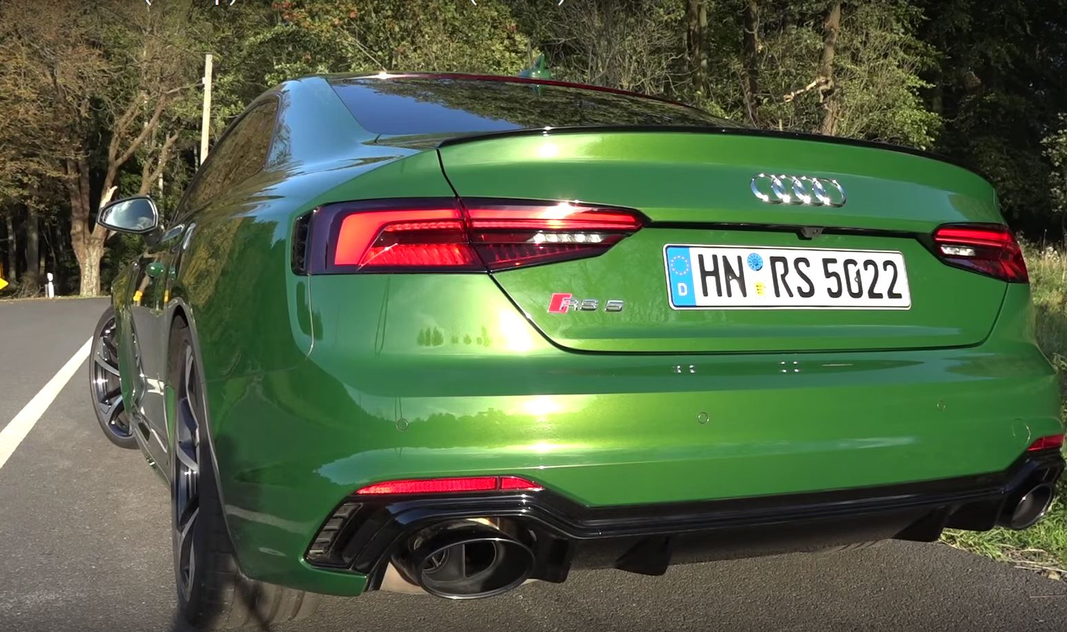 Audi RS Coupe Sounds Really Awesome Is Showing Its Weight - Really awesome cars