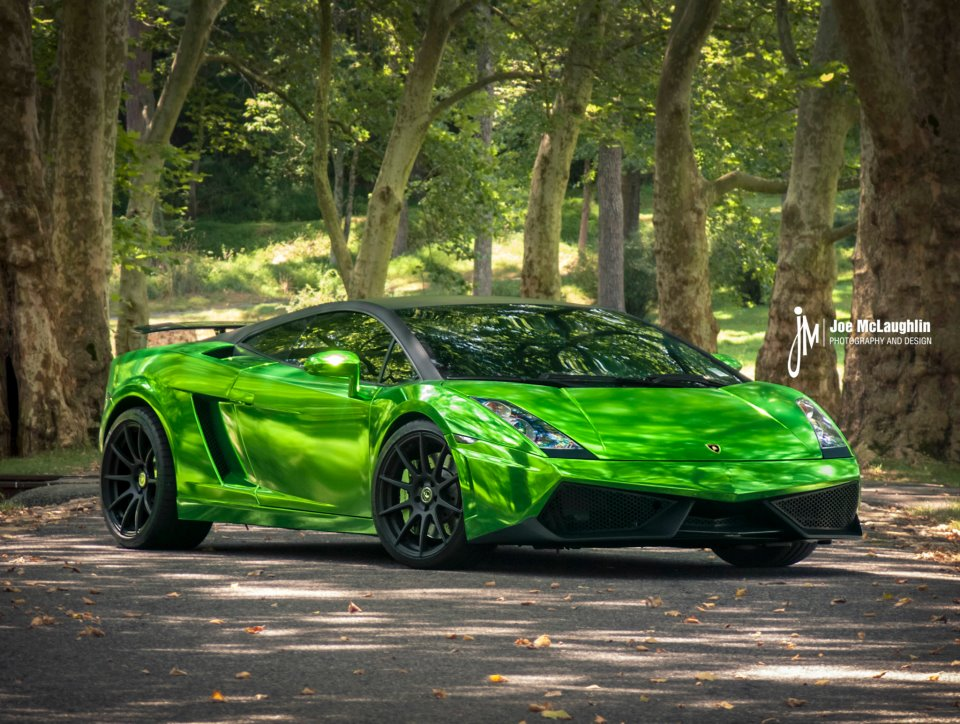 Green Gallardo Lamborghini Images & Pictures - Becuo