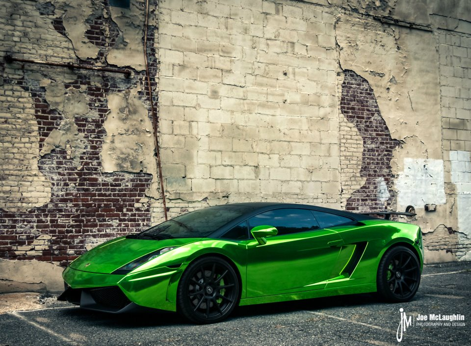 Green Chrome Lamborghini Gallardo Autoevolution