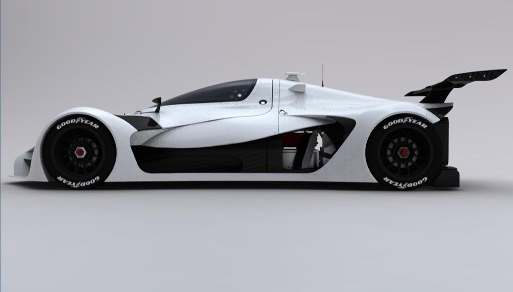 GreenGT Twenty-4, the 2011 Electric Le Mans Racer ...