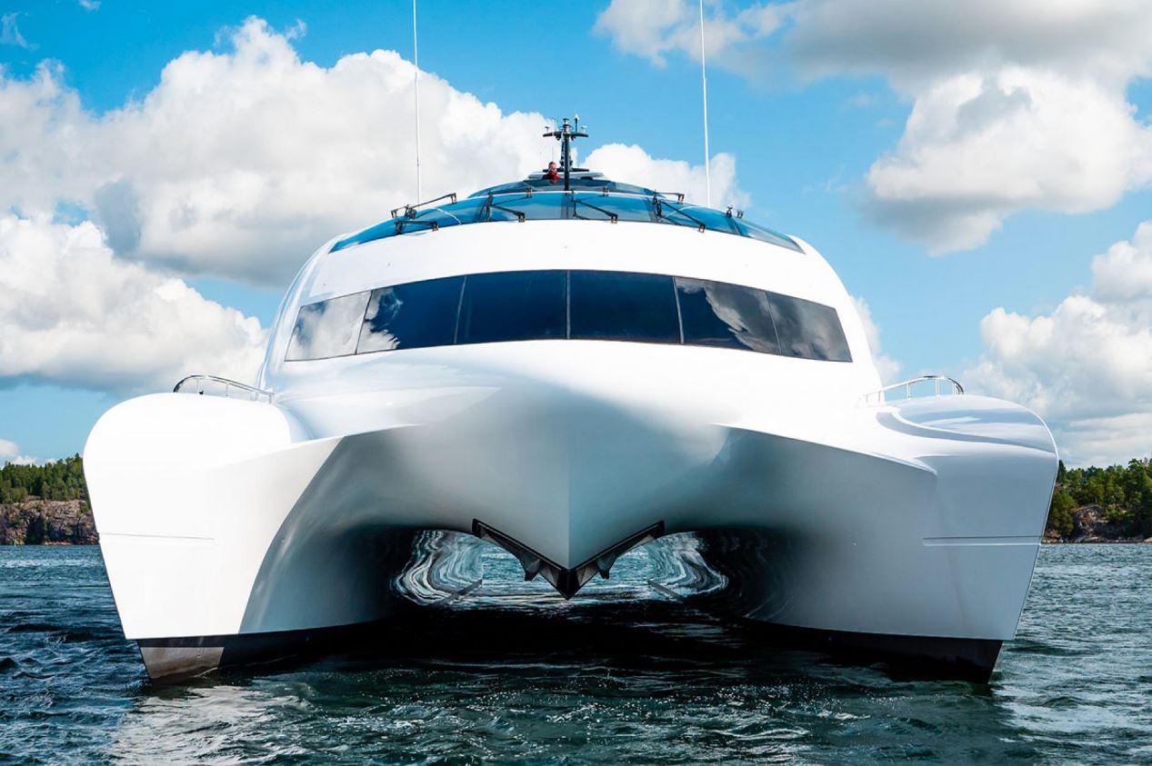 Greta Thunberg sets sail for home aboard catamaran