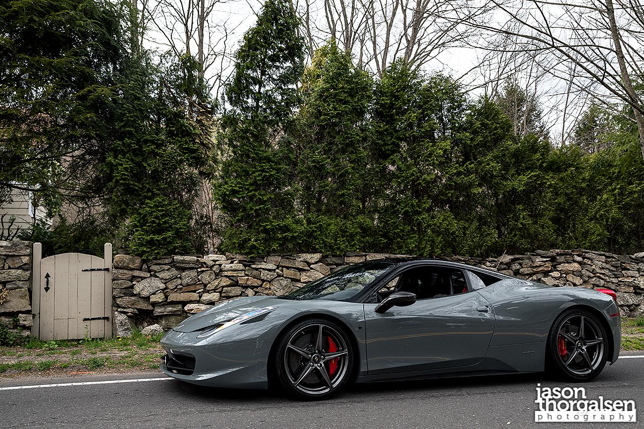 Grigio Medio Ferrari 458 Italia Awesome Shoot Autoevolution