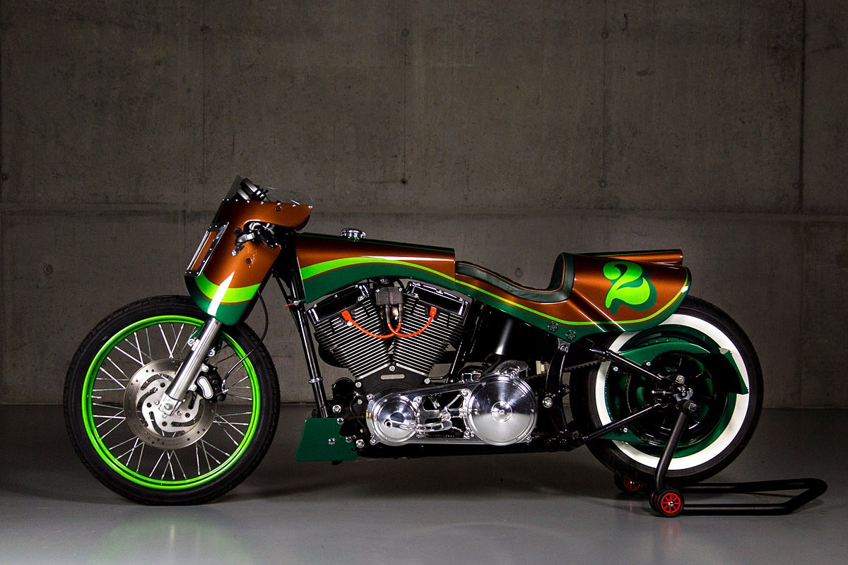 Gs Mashin Harley Davidson Fat Boy Is A Real Showstopper