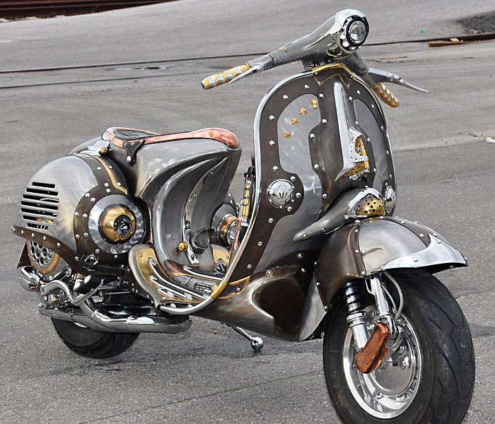Guardian Steampunk Vespa Pulsar Projects