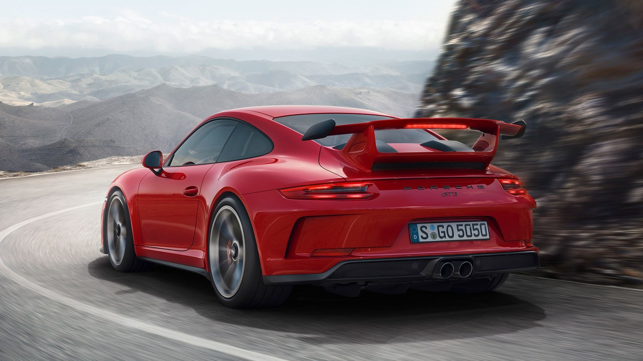 guards red 2018 porsche 911 gt3 shines in its birthday