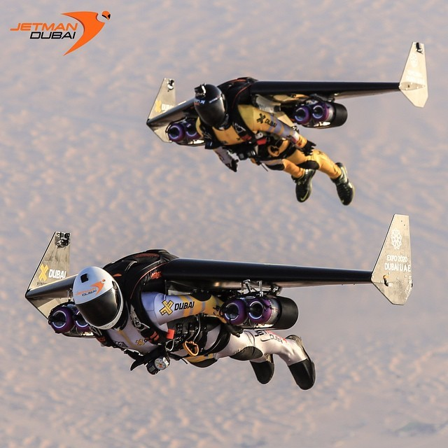 Guinness Record Holder Jetman Takes Over The Skies Of
