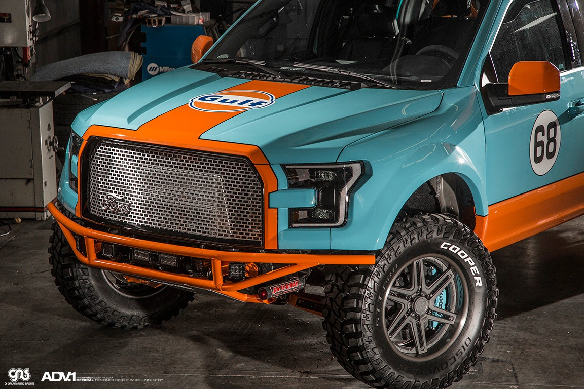 Gulf 2016 Ford F-150 Has Gulf Livery and ADV.1 Wheels ...