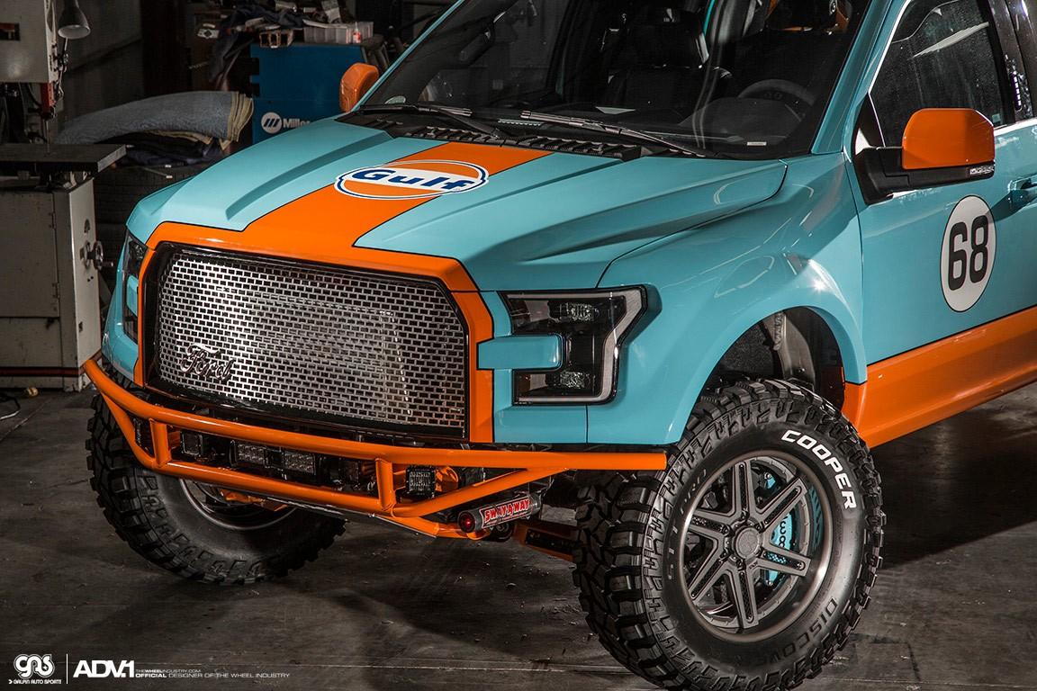 Gulf 2016 Ford F-150 Has Gulf Livery and ADV.1 Wheels ...