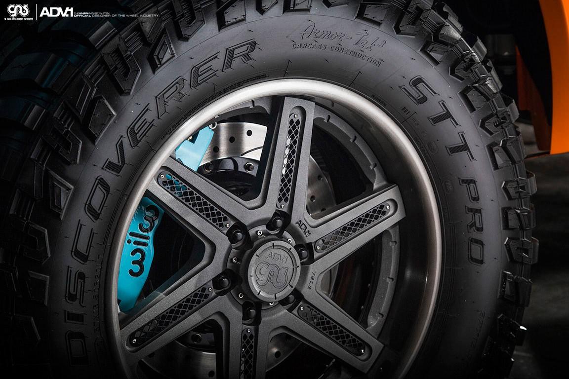 Gulf 2016 Ford F 150 Has Gulf Livery And Adv 1 Wheels