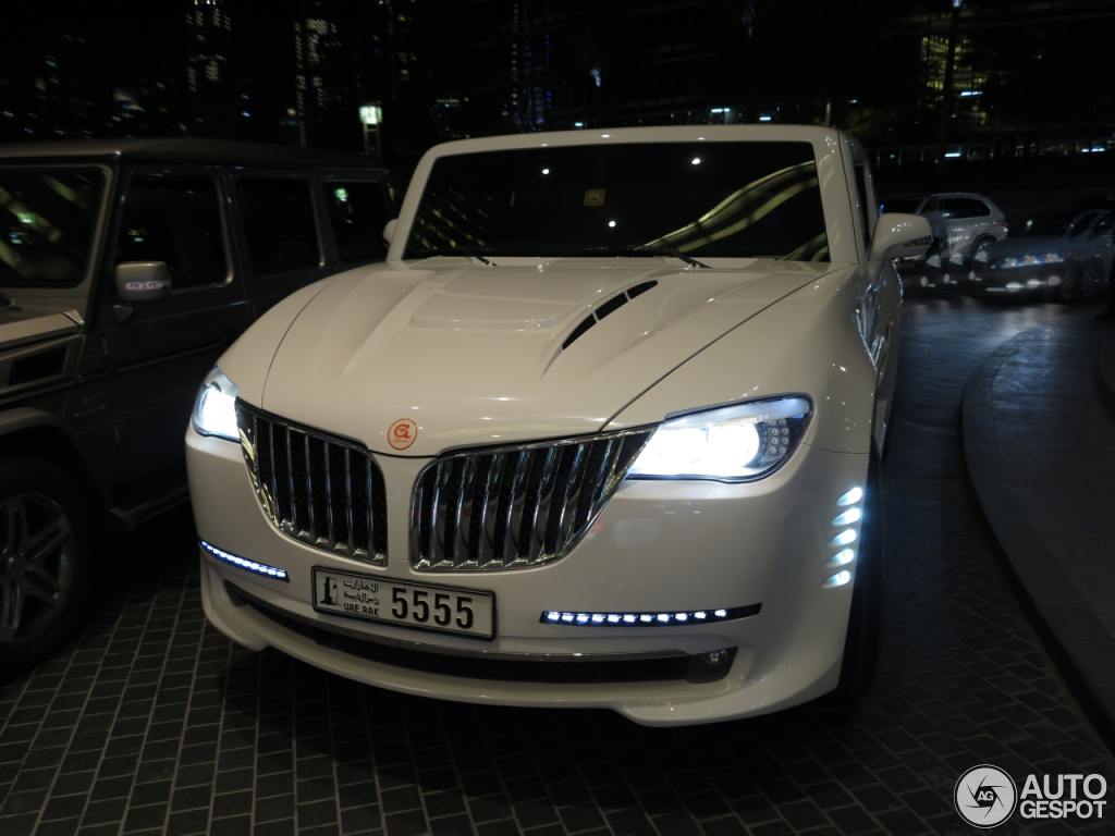 Gulf Lotus X12 Is The Ugly Child Of Hummer And Bmw Union