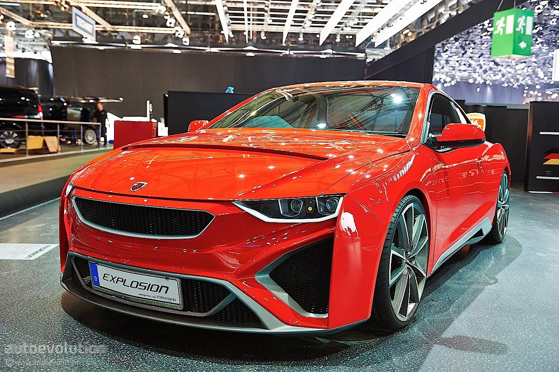 Gumpert Revival: Explosion Sportscar Concept in Geneva ...