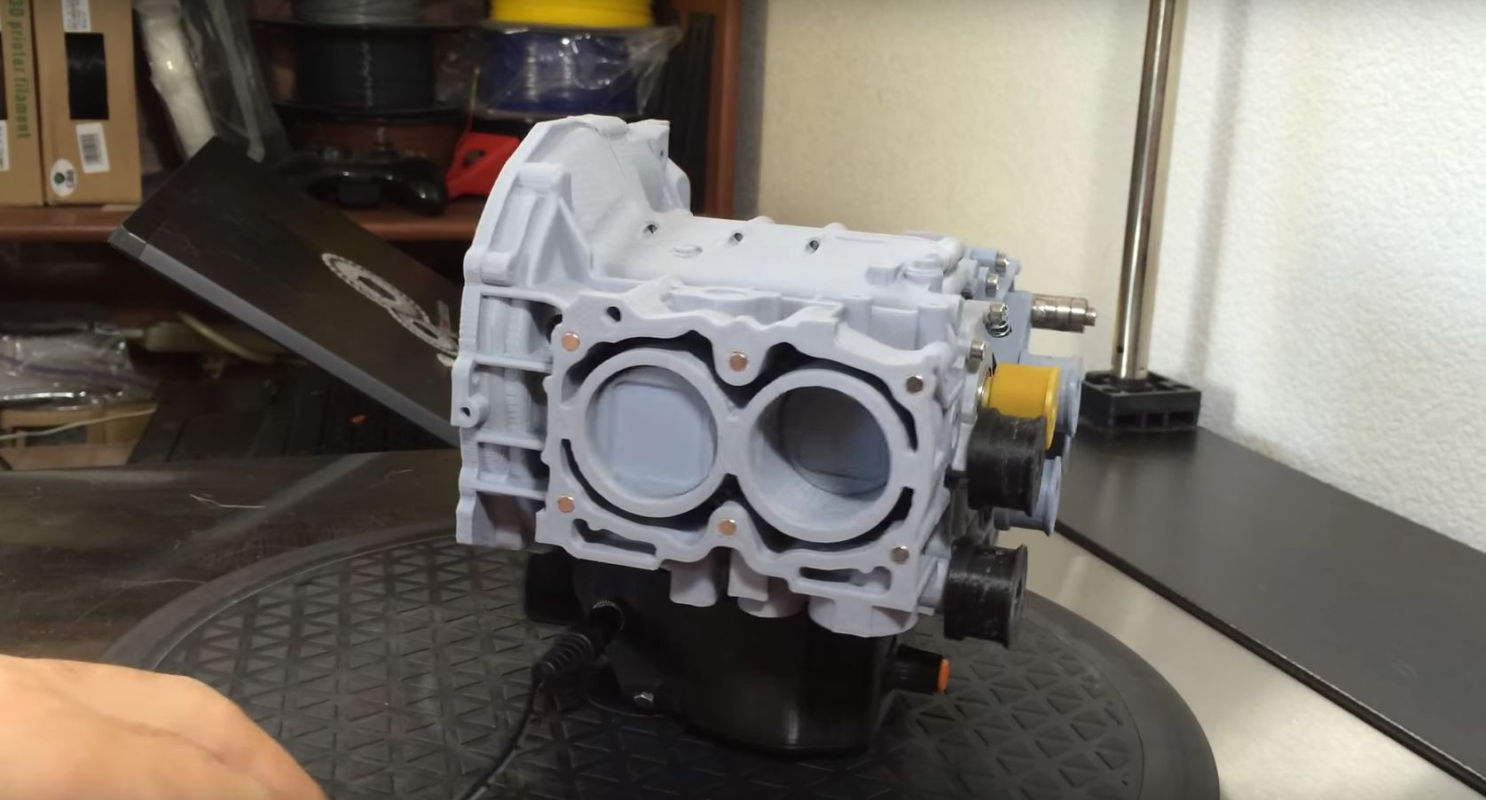Guy Builds 3d Printed Subaru Ej20 Boxer Engine That Works