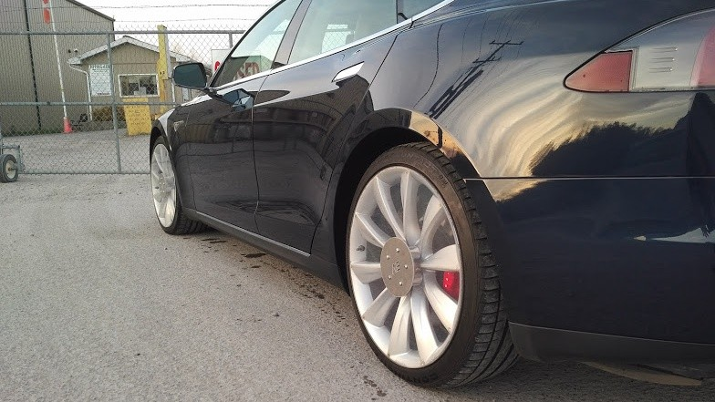 Tesla Model S See Through Diy Aero Wheels
