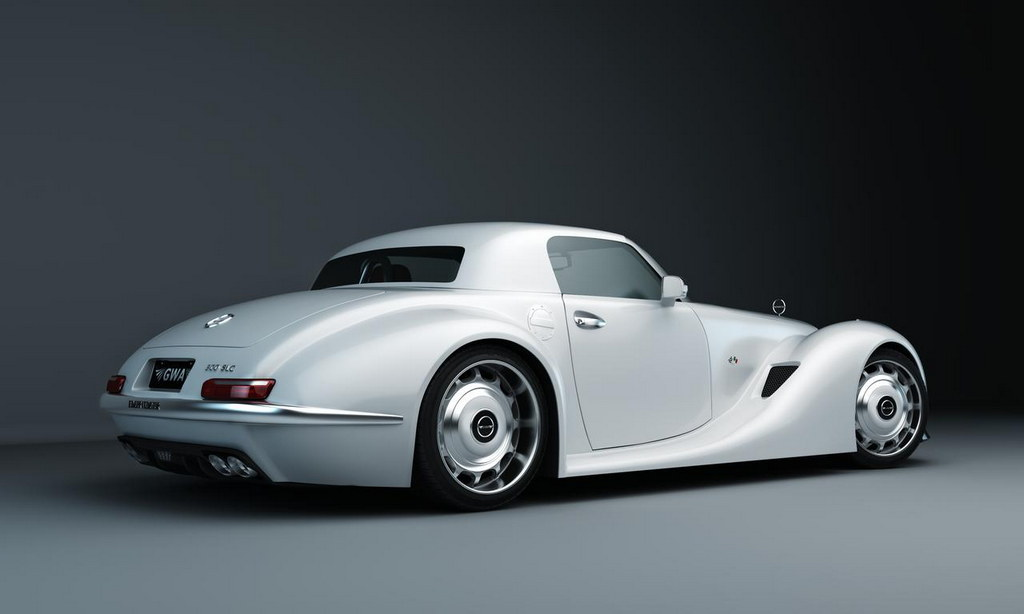 Slc Kit Car >> GWA Reveals SLS Roadster AMG-based Retro-Styled 300 SLC ...