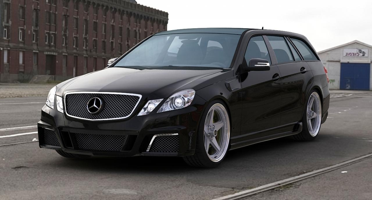 Gwa Tuning Releases Mercedes E63 Amg Estate Tuning Package